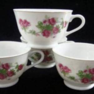 Παλαιά πορσελ.φλυτζανάκια καφέ-τσαγιού (4)