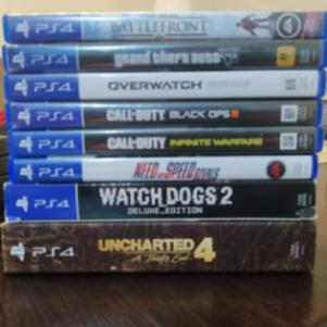 Ps4 + Pc games