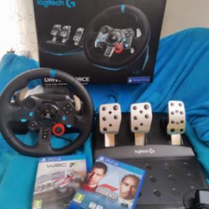 Logitech G29 Driving Force, Racing Wheel !!! ΔΏΡΟ F1 2019 & WRC