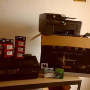 Κατερίνη Μελάνια HP 650 και Εκτυπωτές HP Deskjet 4645  HP Office