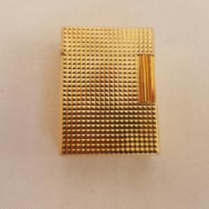 Αναπτήρας S.T. Dupont vintage Χρυσός ( gold-plated ) Made in Fra