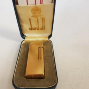 Αναπτήρας Dunhill vintage Χρυσός ( gold-plated ) Made in Switzer
