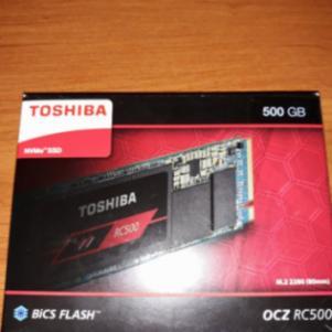Toshiba rc500 ssd