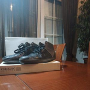 Δερμάτινα παπούτσια GEOX  RESPIRA Ανδρικά