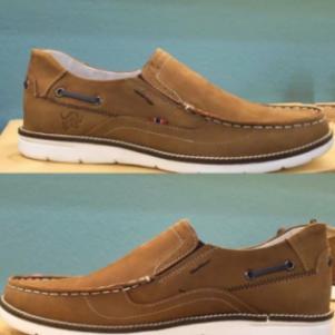 Δερματινα Boat shoes σε ταμπα χρωμα