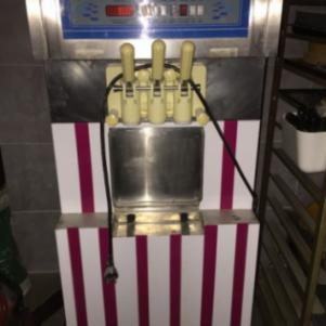 Παγωτομηχανη 3 γευσης