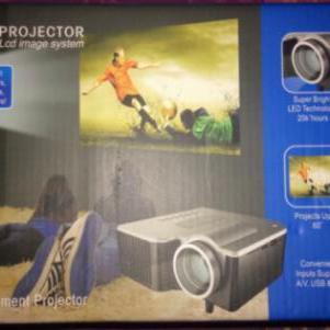 Προτζεκτορας LED Lcd image system