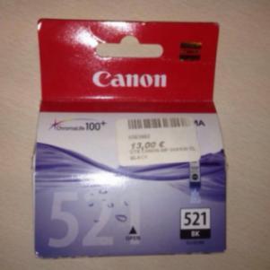Μελάνη Canon 521 Black