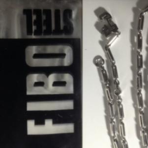 MAN NECKLACE FIBO STEEL