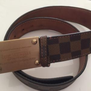 Louisvuitton damier 100% leather