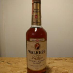 Walker's DeLuxe 8 year old Bourbon