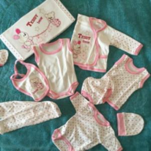 Σετ 10 τεμ για νεογεννητο μωρο