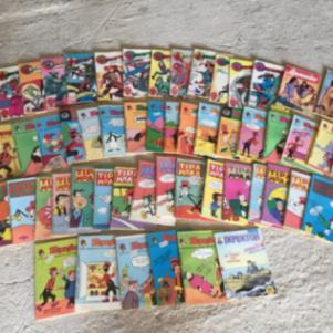 Συλλογή απο 55 Αδιάβαστα διαφορετικά κόμικς του 1982