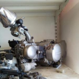 Μοτερ Honda C50 72cv