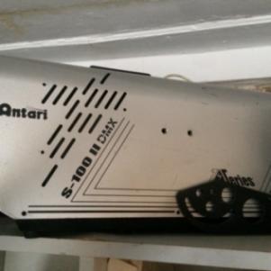 Snow machine atari s-100 dmx