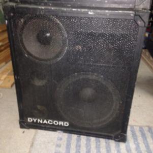 Dynacord ηχεία 3ον δρόμον 500watt