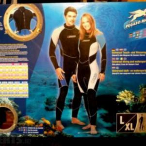 PEGASO Wetsuit Men/Women L XL